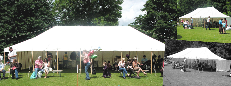 Marquee hire : open sided tent - memphite.com